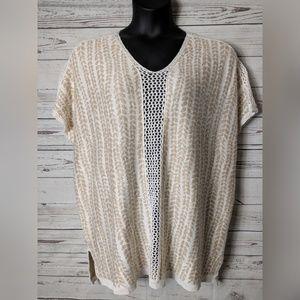 C Wonder M/L Medium Large Box Sweater Pullover